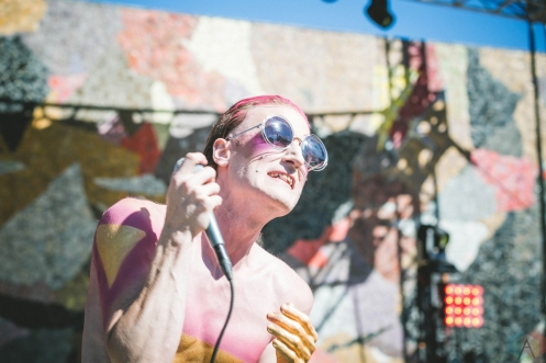 J GREGRY performs at Bumbershoot in Seattle on September 1, 2017. (Photo: Daniel Hager/Aesthetic Magazine)
