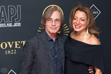 Jackson Browne attends the Artists For Peace And Justice gala at the Art Gallery of Ontario in Toronto on September 10, 2017 during the 2017 Toronto International Film Festival. (Photo: Brendan Albert/Aesthetic Magazine)