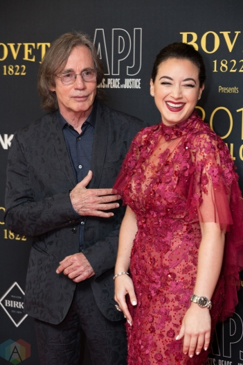 Jackson Browne and Audrey Raffy attend the Artists For Peace And Justice gala at the Art Gallery of Ontario in Toronto on September 10, 2017 during the 2017 Toronto International Film Festival. (Photo: Brendan Albert/Aesthetic Magazine)
