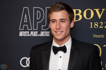 Jake Rosenberg attends the Artists For Peace And Justice gala at the Art Gallery of Ontario in Toronto on September 10, 2017 during the 2017 Toronto International Film Festival. (Photo: Brendan Albert/Aesthetic Magazine)