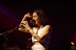 Japanese Breakfast performs at Fox Cabaret in Vancouver on September 26, 2017. (Photo: Danica Bansie/Aesthetic Magazine)
