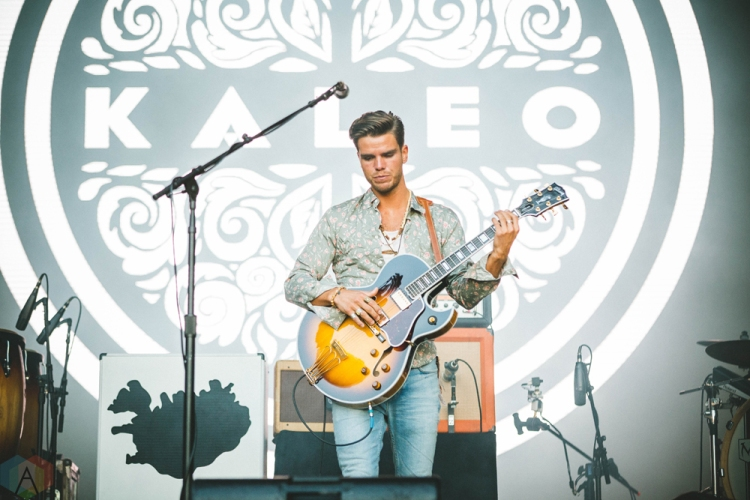 Kaleo performs at Bumbershoot in Seattle on September 2, 2017. (Photo: Daniel Hager/Aesthetic Magazine)