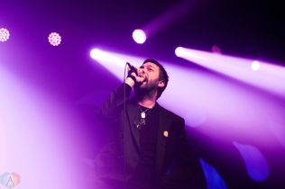 Kasabian performs at Rebel in Toronto on September 18, 2017. (Photo: Lisa Mark/Aesthetic Magazine)
