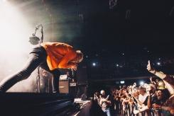 Machine Gun Kelly performs at O2 Ritz Manchester in Manchester, UK on September 28, 2017. (Photo: Priti Shikotra/Aesthetic Magazine)
