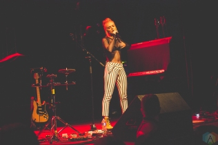 Madilyn Bailey performs at Phoenix Concert Theatre in Toronto on September 19, 2017. (Photo: Charito Yap/Aesthetic Magazine)