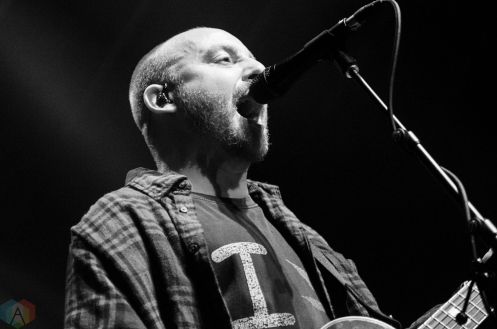 The Menzingers perform at Rebel in Toronto on September 8, 2017. (Photo: Morgan Harris/Aesthetic Magazine)