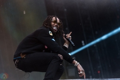 Migos performs at Made In America Festival at Benjamin Franklin Parkway on September 2, 2017 in Philadelphia, Pennsylvania. (Photo: Saidy Lopez/Aesthetic Magazine)