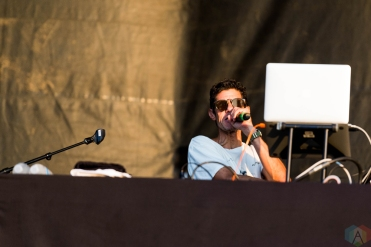 Mike D performs at Riot Fest in Chicago on September 16, 2017. (Photo: Katie Kuropas/Aesthetic Magazine)