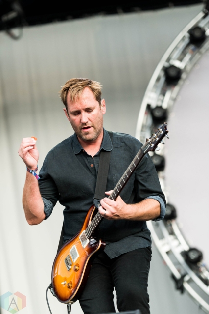 Minus The Bear performs at Riot Fest in Chicago on September 17, 2017. (Photo: Katie Kuropas/Aesthetic Magazine)