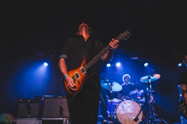 Minus the Bear performs at Ace of Spades in Sacramento, California on September 7, 2017. (Photo: Kyle Simmons/Aesthetic Magazine)