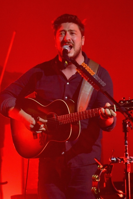 Mumford And Sons performs at Citi Sound Vault at United Palace in New York City on September 18, 2017. (Photo: Mike Coppola/Getty)