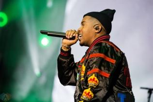 Nas performs at Budweiser Stage in Toronto on September 10, 2017. (Photo: Katrina Lat/Aesthetic Magazine)
