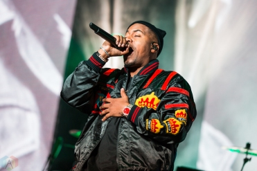 Nas performs at Budweiser Stage in Toronto on September 10, 2017. (Photo: Katrina Lat/Aesthetic Magazine)