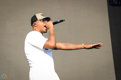 Nas performs at Meadows Festival at Citi Field in New York City on September 17, 2017. (Photo: Alx Bear/Aesthetic Magazine)