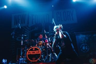 MANCHESTER, UK - SEPTEMBER 29: New Found Glory performs at Manchester Academy in Manchester, UK on September 29, 2017. (Photo: Priti Shikotra/Aesthetic Magazine)