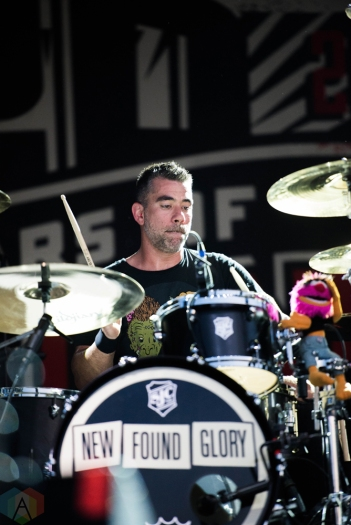 New Found Glory performs at Riot Fest in Chicago on September 16, 2017. (Photo: Katie Kuropas/Aesthetic Magazine)