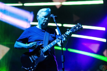 New Order performs at Riot Fest in Chicago on September 15, 2017. (Photo: Katie Kuropas/Aesthetic Magazine)