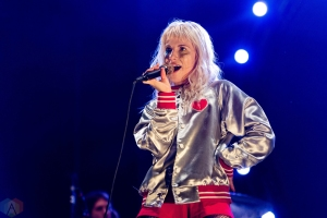 Paramore performs at Riot Fest in Chicago on September 17, 2017. (Photo: Katie Kuropas/Aesthetic Magazine)