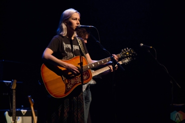Phoebe Bridgers performs at Danforth Music Hall in Toronto on September 13, 2017. (Photo: Sarah McNeil/Aesthetic Magazine)