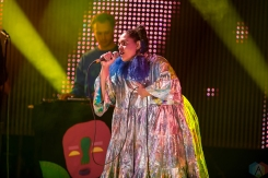 Lido Pimienta performs at the Polaris Music Prize gala at the Carlu in Toronto on September 18, 2017. (Photo: Orest Dorosh/Aesthetic Magazine)