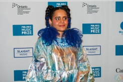 Lido Pimienta attends the Polaris Music Prize gala at the Carlu in Toronto on September 18, 2017. (Photo: Orest Dorosh/Aesthetic Magazine)