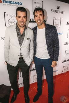 Drew and Jonathan Scott attend the Producers Ball gala in Toronto, Ontario during 2017 Toronto International Film Festival on September 8, 2017. (Photo: Harrison Haines/Aesthetic Magazine)