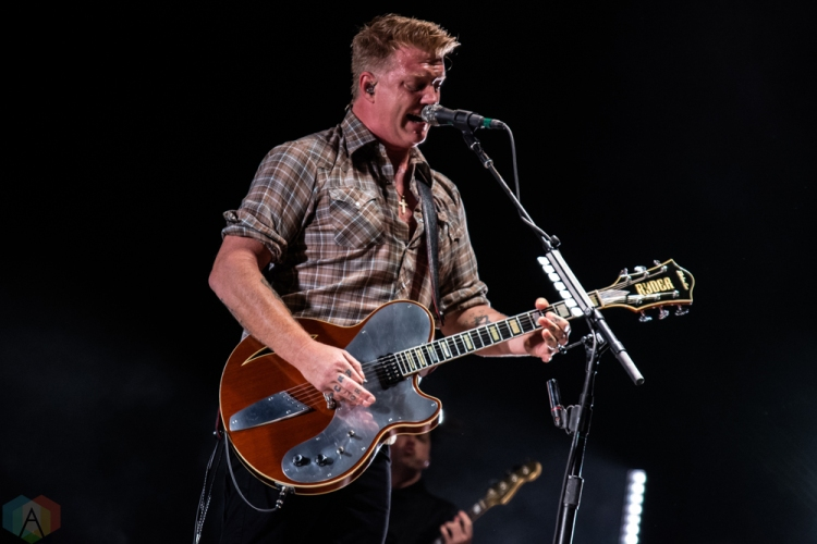 Queens of the Stone Age perform at Budweiser Stage in Toronto on September 9, 2017. (Photo: Tyler Roberts/Aesthetic Magazine)