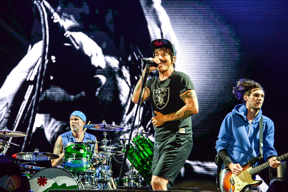 red hot chili peppers performs at meadows festival at citi field in new york city on september. Black Bedroom Furniture Sets. Home Design Ideas