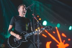 Rise Against performs at Abbotsford Centre in Abbotsford, British Columbia on September 14, 2017. (Photo: Isaac Wray/Aesthetic Magazine)