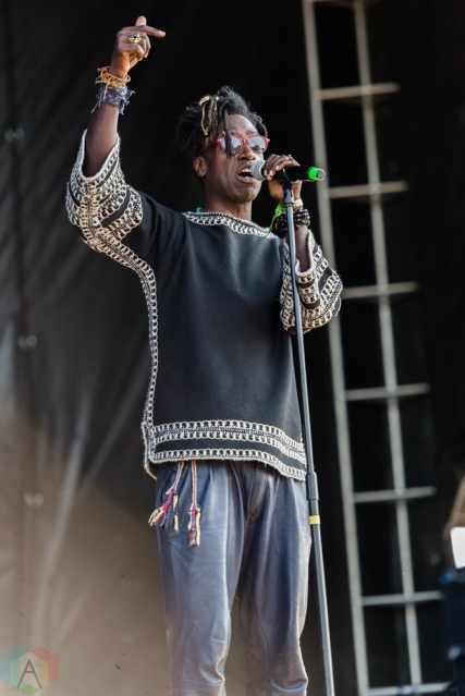 Saul Williams performs at Riot Fest in Chicago on September 15, 2017. (Photo: Katie Kuropas/Aesthetic Magazine)