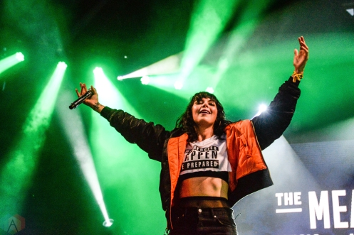 Sleigh Bells performs at Meadows Festival at Citi Field in New York City on September 17, 2017. (Photo: Alx Bear/Aesthetic Magazine)