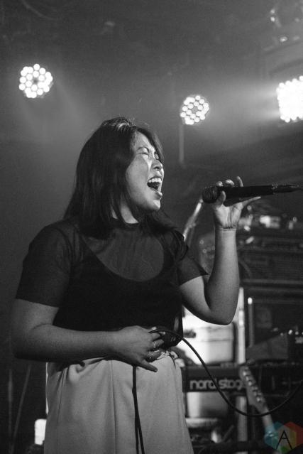 The Belle Game performs at Festival Music House at Velvet Underground in Toronto on September 10, 2017. (Photo: Morgan Hotston/Aesthetic Magazine)