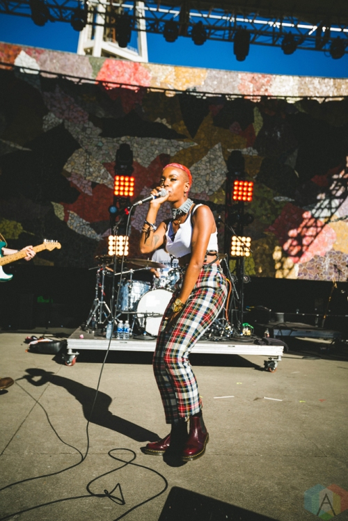 The Skins perform at Bumbershoot in Seattle on September 2, 2017. (Photo: Daniel Hager/Aesthetic Magazine)