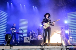 Two Door Cinema Club performs at Meadows Festival at Citi Field in New York City on September 15, 2017. (Photo: Alx Bear/Aesthetic Magazine)