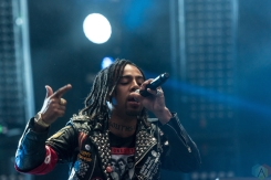 Vic Mensa performs at Made In America Festival at Benjamin Franklin Parkway on September 2, 2017 in Philadelphia, Pennsylvania. (Photo: Saidy Lopez/Aesthetic Magazine)