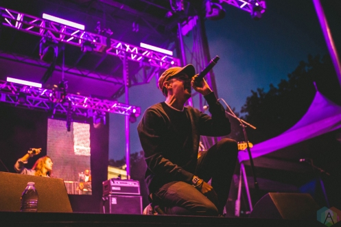 Watsky performs at Bumbershoot in Seattle on September 1, 2017. (Photo: Daniel Hager/Aesthetic Magazine)