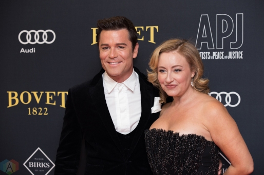 Yannick Bisson attends the Artists For Peace And Justice gala at the Art Gallery of Ontario in Toronto on September 10, 2017 during the 2017 Toronto International Film Festival. (Photo: Brendan Albert/Aesthetic Magazine)