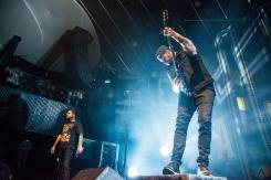 TORONTO, ONTARIO - OCTOBER 11: A Day To Remember performs at Rebel in Toronto on October 11, 2017. (Photo: Joanna Glezakos/Aesthetic Magazine)