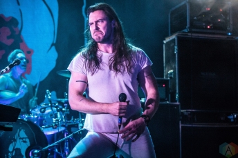 TORONTO, ONTARIO - OCTOBER 17: ANDREW W.K. performs at The Opera House in Toronto on October 17, 2017. (Photo: David McDonald/Aesthetic Magazine)
