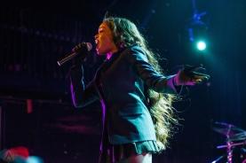 Azealia Banks performs at The Opera House in Toronto on October 8, 2017. (Photo: Joanna Glezakos/Aesthetic Magazine)