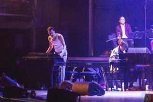 TORONTO, ON - OCTOBER 20: BadBadNotGood performs at Massey Hall in Toronto on October 20, 2017. (Photo: Anton Mak/Aesthetic Magazine)