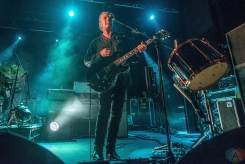 MANCHESTER, UK - OCTOBER 27: Black Rebel Motorcycle Club performs at Manchester Academy in Manchester, UK on October 27, 2017. (Photo: Sabrina Ramdoyal/Aesthetic Magazine)