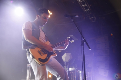 Bleachers performs at Roseland Theater in Portland on October 3, 2017. (Photo: Krystyn Bristol/Aesthetic Magazine)