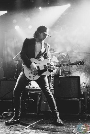 VANCOUVER, BC - OCTOBER 20: Broken Social Scene performs at Commodore Ballroom in Vancouver on October 20, 2017. (Photo: Natasha Priya/Aesthetic Magazine)