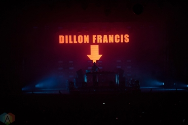 CHICAGO, IL - OCTOBER 28: Dillon Francis performs at Aragon Ballroom in Chicago on October 28, 2017. (Photo: Charles Yamabe/Aesthetic Magazine)