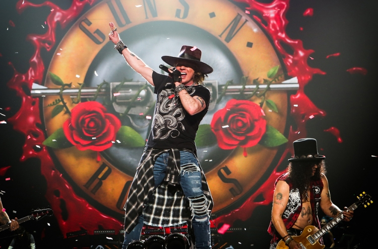 Guns N' Roses. (Photo: Katarina Benzova)