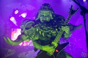 TORONTO, ON - OCTOBER 22: GWAR performs at The Opera House in Toronto on October 22, 2017. (Photo: Josh Ladouceur/Aesthetic Magazine)