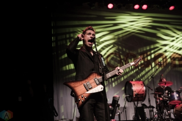 Hanson performs at Danforth Music Hall in Toronto on October 4, 2017. (Photo: Kelsey Giesbrecht/Aesthetic Magazine)