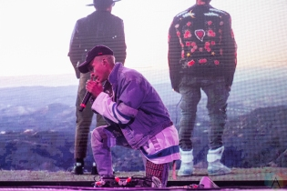 TORONTO, ON - OCTOBER 25: Jaden Smith performs at Air Canada Centre in Toronto on October 25, 2017. (Photo: Joanna Glezakos/Aesthetic Magazine)