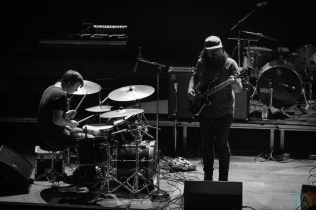 Jenny Besetzt performs at Massey Hall in Toronto on October 6, 2017. (Photo: Cameron Bartlett/Aesthetic Magazine)